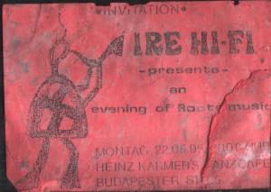 Ire Hi-Fi @ Heinz Kramers Tanzcafe | 1995