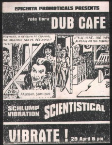 Schlump Vibration Scientistical - @ Dub Cafe / Rote Flora
